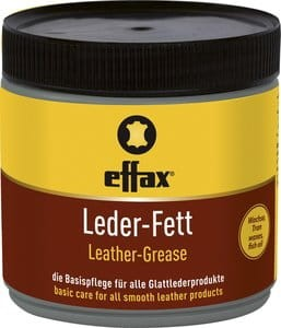 Leder Fett 500ml czarna pasta do skór